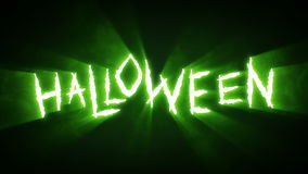 Claw Slashes Halloween Green stock footage
