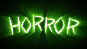 Claw Slashes Horror Green stock video footage
