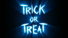 Claw Slashes Trick or Treat Blue stock video