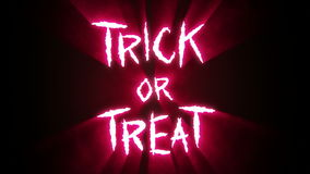 """Claw Slashes Trick or Treat Red. Animation of claw slashes that spell the phrase """"Trick or Treat"""". Please view my other animations in this series. Available stock footage"""