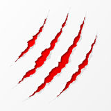 Claws scratches royalty free illustration