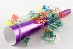 Claxon del partido cubierto en bobinadores de cintas en modo continuo Fotos de archivo libres de regalías