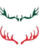Claxones de los ciervos Imágenes de archivo libres de regalías