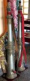 Claxones del templo budista fotos de archivo