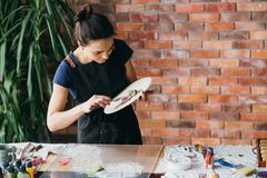 Free Clay Art Ceramic Craft Artist Studio Workplace Stock Image - 143129271