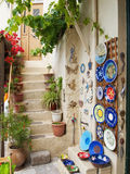 Clay art decoration in Crete Royalty Free Stock Photos