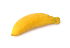 Clay banana Royalty Free Stock Photo
