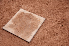 Clay baseball field Stock Photography