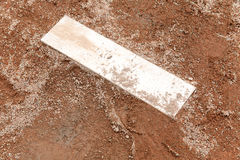 Clay baseball field Stock Photos