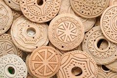Clay Beaded Jewelry ethnique Image stock