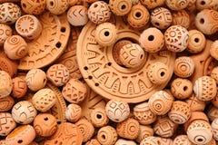 Clay Beaded Jewelry ethnique Images stock