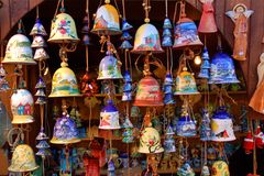 Clay bells Stock Photo