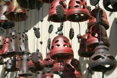 Clay bells Royalty Free Stock Photography