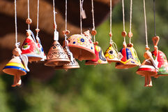 Clay Bells Royalty Free Stock Photos
