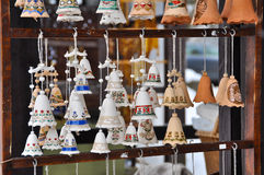 Clay Bells Royalty Free Stock Image