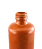 Clay bottle neck Royalty Free Stock Image