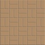 Clay brick floor pattern Royalty Free Stock Image