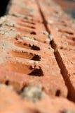 Clay Brick Row Abstract Imágenes de archivo libres de regalías