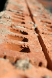 Clay Brick Row Abstract Royalty Free Stock Images