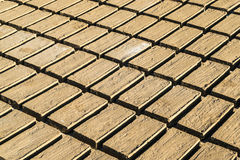 Clay brick Stock Images