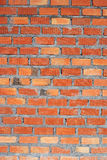 Clay brick wall Stock Photography