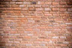 Clay brick wall background Royalty Free Stock Photography