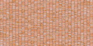 Clay brick wall seamless texture Royalty Free Stock Photography