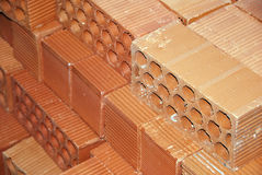 Clay bricks Royalty Free Stock Photography