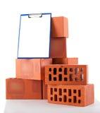 Clay bricks Stock Images
