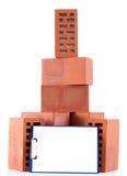 Clay bricks Royalty Free Stock Photography