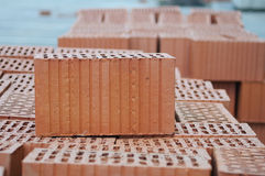 Clay Bricks Images libres de droits
