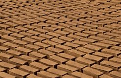 CLAY BRICKS Stock Photo