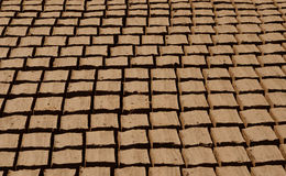 CLAY BRICKS Royalty Free Stock Photo