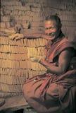 Clay buddha in Tibet Stock Image