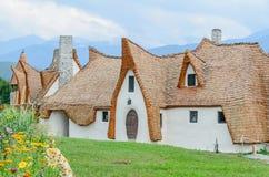Clay Castle dalen av feerna royaltyfria bilder