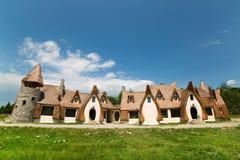 Clay Castle, el valle de las hadas Foto de archivo libre de regalías