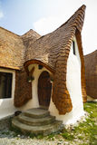 Clay Castle, Fairy Valley, Romania - 27 july 2016 - The pension stock photography