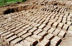 clay cegły Fotografia Stock