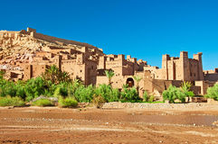 The clay city in the north of Africa. Morocco Royalty Free Stock Photography