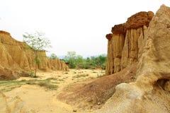 Clay city at Sao Din,Na Noi,Nan,Thailand Stock Image