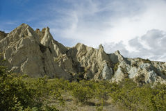 Clay cliffs Royalty Free Stock Images