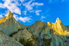 Clay Cliffs imagem de stock