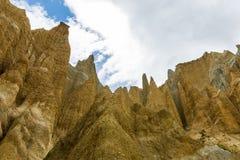 Clay Cliffs near Omarama Stock Photography