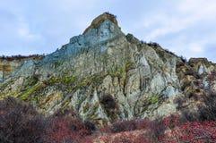 Clay Cliffs near Omarama, New Zealand Royalty Free Stock Photos