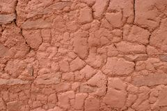 Clay Contours, Abo Pueblo, New Mexico Royalty Free Stock Image