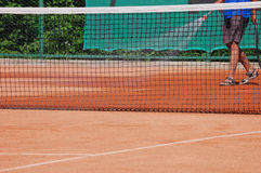 Clay court Stock Images