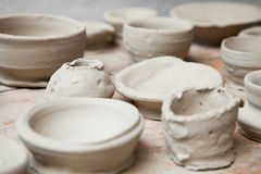 Clay craft Stock Images