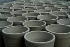 Clay Cups geometrico immagini stock