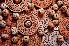 Clay decorations Royalty Free Stock Photo