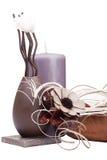 Clay decorative vase Royalty Free Stock Photo